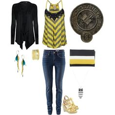 hunger games inspired: district 8, created by elfsrule on Polyvore