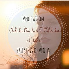 "Meditation ""Priestess of Venus""  (download) Meditation, Venus, Spiritual, Zen"