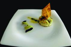 Pastel de calabacín con crujiente de pipas. Restaurante Carabí. #Elche #visitelche #destapateelche #gastronomia #ocio #restaurantes #concurso