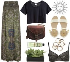 """""""Sun-child"""" by pastelised ❤ liked on Polyvore"""