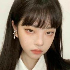 Aesthetic Makeup, Aesthetic Girl, Aesthetic Korea, Ulzzang Hair, Beauty Makeup, Hair Beauty, Uzzlang Girl, Just Girl Things, Mo S
