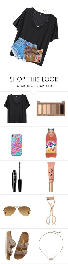 """HAPPY MOTHER'S DAY !! ♡"" by abigailcdunn ❤ liked on Polyvore featuring R13, Levi's, Urban Decay, Lilly Pulitzer, NYX, Too Faced Cosmetics, Ray-Ban, Charlotte Tilbury, Birkenstock and Kendra Scott"