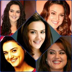 Preety Zinta,31/1 born Bollywood Stars, Pretty Zinta, Star Wars, Amai, Her Smile, Bollywood Celebrities, Dimples, Quality Time, Future Husband