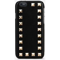 Valentino Rockstud I Phone 6 case ($275) ❤ liked on Polyvore featuring accessories, tech accessories, phone cases, phones, black and electronics