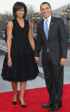 First Lady Michelle Obama and President Barack Obama!!!