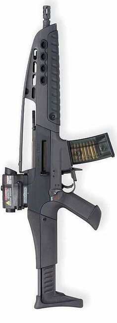 The Heckler and Koch XM8 - Such a great rifle but due to budget cuts it sits shelved.