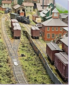 East of the Blue Ridge - Fantastic old school type North American model railway // Inspiration