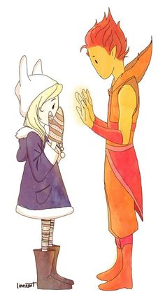 Flame Prince and Fiona Adventure Time Comics, Adventure Time Finn, Cartoon Network Adventure Time, Adventure Time Wallpaper, Marceline And Princess Bubblegum, Flame Princess, Jake The Dogs, Time Pictures, Bubbline