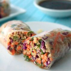 Our sesame spring rolls include homemade sesame dressing that's bright and crisp. You'll love the flavor!
