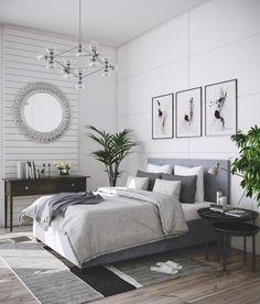simple bedroom – Alex and Gen house – einrichtungsideen wohnzimmer Bedroom Artwork, Room Ideas Bedroom, Home Decor Bedroom, Minimalist Bedroom, Modern Bedroom, Simple Bedroom Design, Grey Bed Frame, Pretty Bedroom, Creative Industries