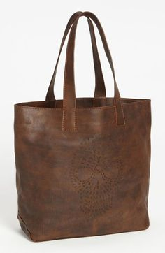 ***This.must.for.me.now.want.***Frye 'Skull' Leather Tote available at #Nordstrom