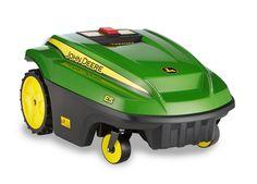 John Deere Tango E5 Robotic Lawn Mower    #lawnmower #johndeere #gadgets #technology