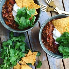 Chili Recipes, Mexican Food Recipes, Healthy Recipes, Ethnic Recipes, Healthy Chili, Food Crush, Yummy Eats, Foodies, Food Photography
