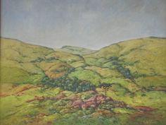 Paisagem de Monte Verde (Pintura),  50x70 cm por Julio Cesar Óleo s/ MDF