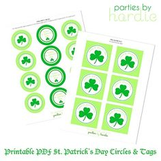 Saint Patrick's Day printables