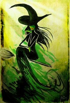 The wicked witch of the west :)