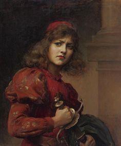 Paul Antoine de la Boulaye (1849 - 1926) - Joan of Arc