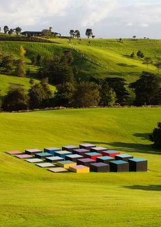 Art - The Design Files | Australia's most popular design blog. Art Et Architecture, Landscape Architecture Design, Landscape Art, Outdoor Sculpture, Sculpture Art, Garden Sculpture, Metal Sculptures, Abstract Sculpture, Bronze Sculpture