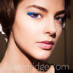 #throwback backstage #makeupbylisaeldridge A/W 14 @alicetemperley #tbt @alma_durand