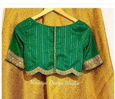 Hand Work Blouse Design, Simple Blouse Designs, Stylish Blouse Design, Bridal Blouse Designs, Blouse Neck Designs, Blouse Styles, Pattu Saree Blouse Designs, Saree Blouse Patterns, Designer Blouse Patterns