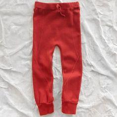 nico nico organic score leggings - tomato