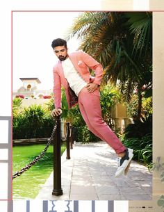 Saqib Saleem para GQ India por Tarun Vishwa Saqib Saleem, Boy Fashion, Mens Fashion, Yash Raj Films, Bollywood Actors, Well Dressed, Gq, Editorial Fashion, Men Dress