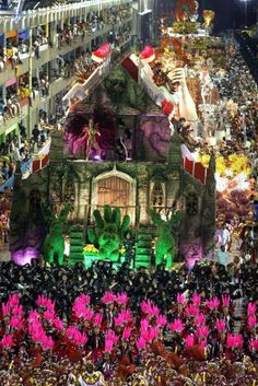 carnival Rio. Spectacular!! Pumpkin would probably have an anxiety attack being in this one...