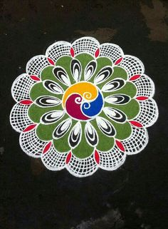 Rangoli Kolam Designs on Happy Shappy in Here you can find the most beautiful & Simple design, photos, images, free hand and more in Small & Large design Ideas Simple Rangoli Designs Images, Rangoli Designs Latest, Small Rangoli Design, Mehndi Designs, Simple Designs, Latest Rangoli, Rangoli Patterns, Rangoli Ideas, Rangoli Designs Diwali