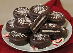 Minty Chocolate-Covered Cookies Recipe