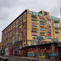 #5pointz   We're going to miss this iconic scene from the 7 train on our way to the #USOpen. - @usopen- #webstagram