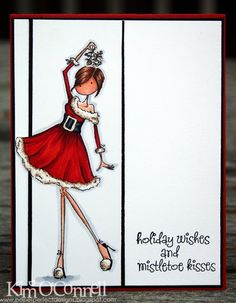 Paper Perfect Designs: Mistletoe Kisses - PERFECTION!
