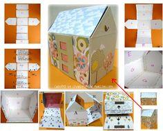 Cute doll house tutorial