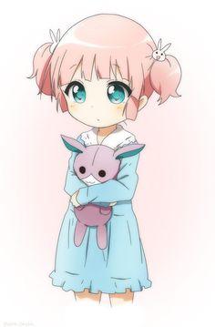 Yuru yuri | Chinatsu  Hi guys this anime is my Favorite one pls follow me My name is ryza joy my pic is jeff the killer Cute Chibi, Kawaii Chibi, Kawaii Art, Kawaii Anime Girl, Anime Child, Manga Girl, Manga Anime, Animes Manga, Anime Art