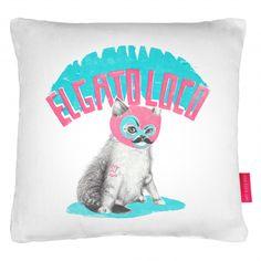 The Crazy Cat Cushion