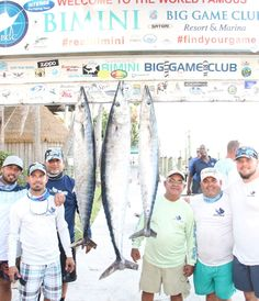 Bimini Wahoo Smackdown X 2018 - Team Little Giant, Biggest Fish Winners Bahamas Resorts, Little Giants, Big Fish, Big Game, Boating, Fishing, Club, Activities, Baseball Cards