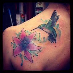 #coverup #flowertattoo #hummingbirdtattoo #colibritattoo  LOS ESPERAMOS A TODOS EN olavarria 2831!!!