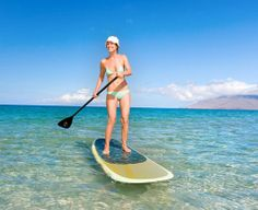 Private SUP lessons on Maui