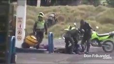 Abuso, exceso y brutalidad del ESMAD y La Policia Nacional, Colombia