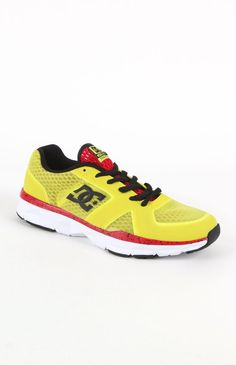 66dd867fe3bf3 Mens Dc Shoes Shoes - Dc Shoes Unilite Yellow Trainer Shoes