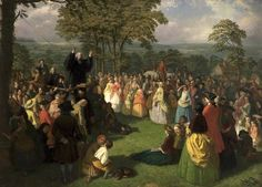 George Whitefield Preaching in Bolton, June 1750 (Bolton Library & Museum Services, Bolton Council)  THE GREAT AWAKENING AND THE AMERICAN REVOLUTION