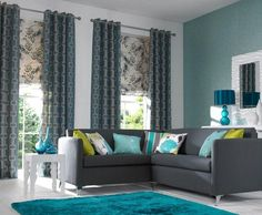 Image result for teal carpet living room