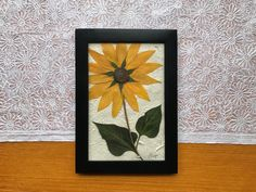 Flower Meanings, Willow Branches, Pressed Flower Art, Language Of Flowers, Walnut Stain, Home Decor Wall Art, Yellow Flowers, Woodland, Harvest