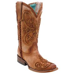 Corral Women's Whip Stitch Western Boots