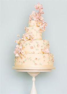 Rosalind Miller Elegant Wedding Cake 21
