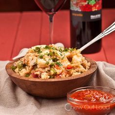 Chicken Recipes Mexican Rice with Chicken and Shrimp recipe