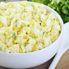 We're all for eating well but...who wants to go through a big complicated recipe just to make tomorrow's lunch? Nobody ever that's who. So here's a super-simple creamy egg salad recipe that's high in protein high in yumminess (sorry for the jargon) and can be enjoyed in so many ways (e.g. lettuce wrap sandwich on its own). You'll be making 3 servings here. Here's what you'll need: 8 eggs 4 celery stalks chopped 2 Tablespoons onion greens chopped 1/4 cup non fat Greek yogurt 2 teaspoons…