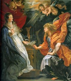 Annunciation - Peter Paul Rubens - 1609