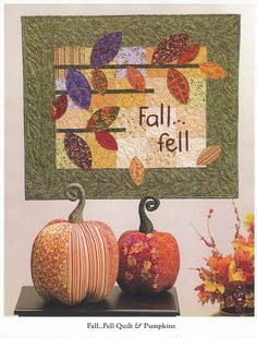Autumn Wall DIY - Art to Heart Bittersweet + other BOOKS of Quilting and Paper piecing and clutch!! - rosotali roso - Álbumes web de Picasa
