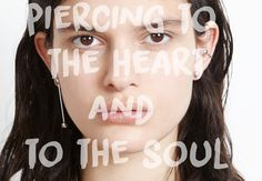 MFP Fall Collection 'Pierced' is here. Playing with the post modern concept of body modification, Maria Francesca Pepe created jewellery for the unrequieted punk spirit. Body Modifications, Deconstruction, Body Piercing, The Cure, Heart, Collection, Body Mods