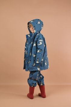 Chaqueta snow pigeons TINYCOTTONS Padded Jacket, Pigeon, Welt Pocket, Baby Shop, Snow, Sleeves, Cotton, Jackets, 18 Months